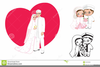 Muslim Wedding Clipart Free Image