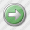 Icon Arrow Right Green Image