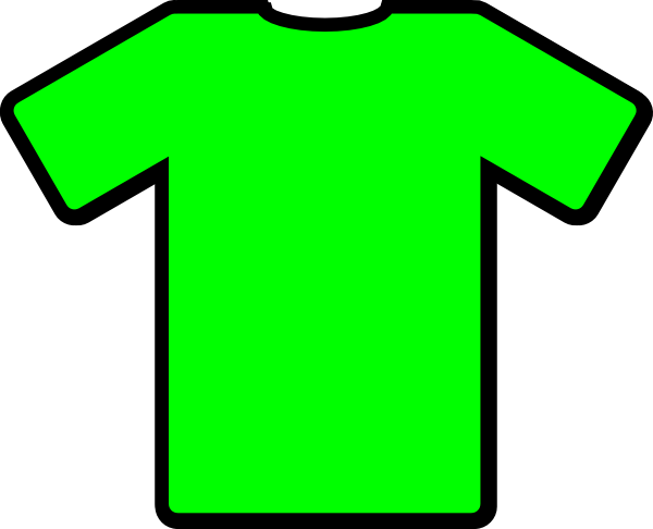 t shirt shape clipart - photo #17