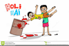 Indian Boy Cartoon Clipart Image