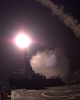 Tomahawk  Cruise Missile Launches From The Forward Missile Deck Aboard The U.s. Navy Destroyer Uss Gonzalez, Image