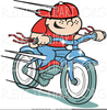 Free Bike Safety Clipart Image