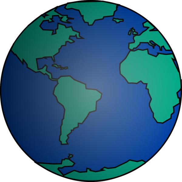 Globo Terraqueo Mundo image - vector clip art online, royalty free ...