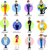 Clipart Of Different Jobs Image