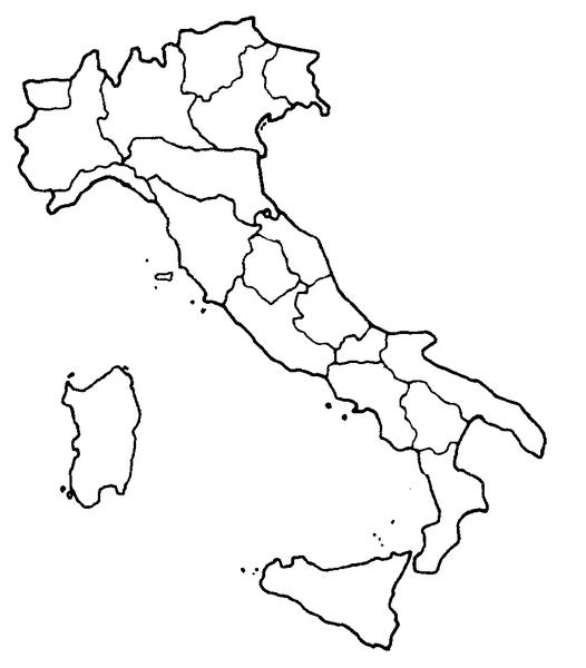 Italia Cartina Muta Regioni.Italia Muta Regioni Free Images At Clker Com Vector Clip Art Online Royalty Free Public Domain