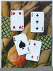 Playing Cards Painting Image