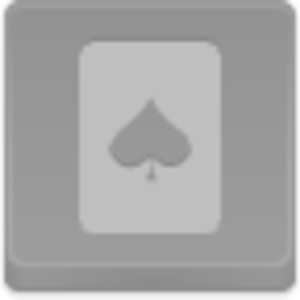 Free Disabled Button Spades Card Image