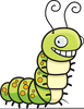 Hungry Caterpillar Clipart Image
