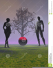 Adam And Eve Apple Clipart Image