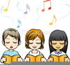 Free Clipart Children Church Image