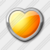 Icon Heart Yellow 3 Image