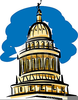 Clipart State Capitol Building Image
