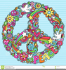 Hippie Peace Sign Clipart Image