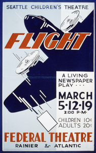 Seattle Children S Theatre [presents]  Flight  A Living Newspaper Play Image