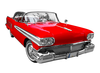 Classic Car Show Clipart Image