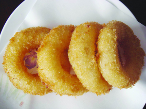 Prefried Crumbed Onion Rings Image