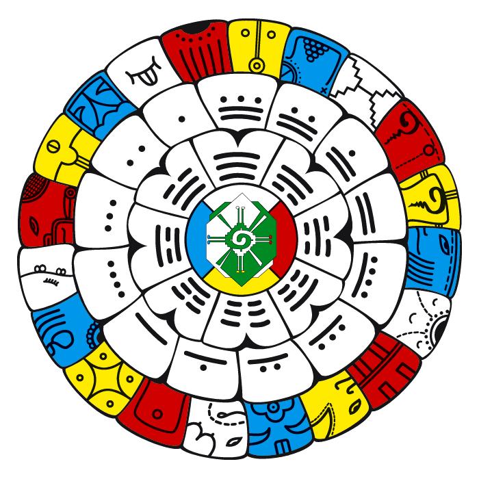 Poster maya rad free images at vector clip for Clipart calendario