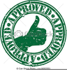 Free Seal Of Approval Clipart Image
