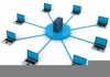 Free Computer Network Clipart Image