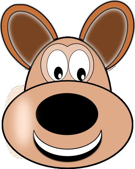 clipart dog face - photo #8