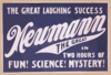 The Great Laughing Success, Newmann The Great In Two Hours Of Fun! Science! Mystery! Clip Art