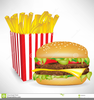 French Fries Fast Food Clipart Free Image