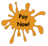 Pay Now Splat Image