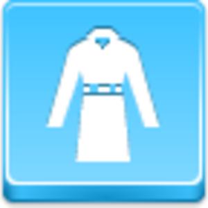 Free Blue Button Icons Coat Image