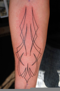 Pinstriping Tattoo Free Images At Clker Com Vector Clip Art Online Royalty Free Public Domain
