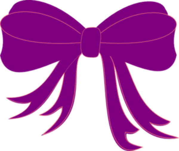 Purple Ribbon Md | Free Images at Clker.com - vector clip art online, royalty free & public domain