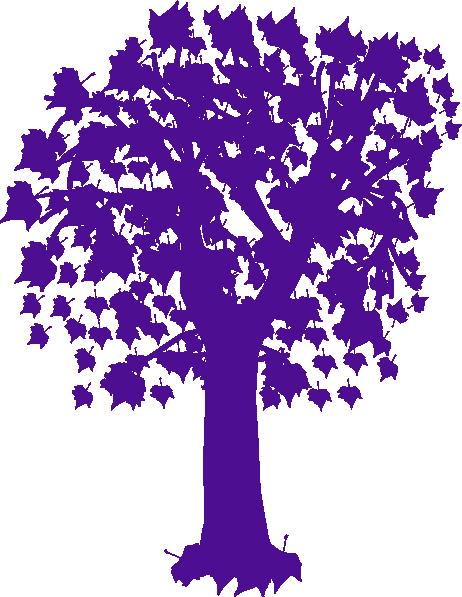 purple maple tree clip art at clker com vector clip art online rh clker com Tree of Life Clip Art Tree Trunk Clip Art