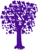 Purple Maple Tree Clip Art
