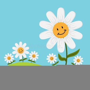 Free Clipart Daisy Flowers Image
