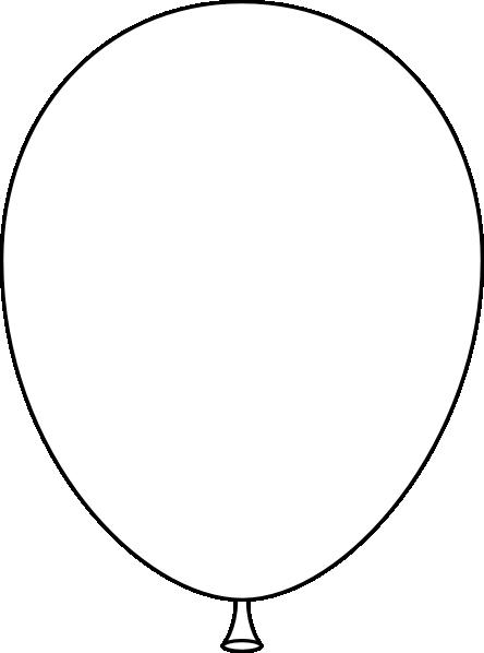 Balloon Clip Art At Clker Com Vector Clip Art Online Royalty Free Public Domain
