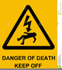 Danger Warning Signs Clipart Image