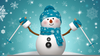 Animated Dancing Snowman Clipart Image