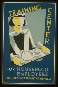 Training Center For Household Employees--household Service Demonstration Project, W.p.a.  / Cleo. Image