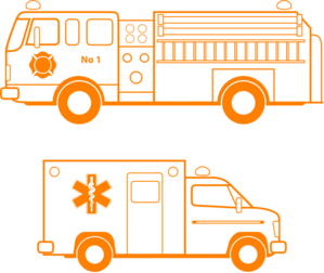 Fire Truck And Ambulance Clip Art