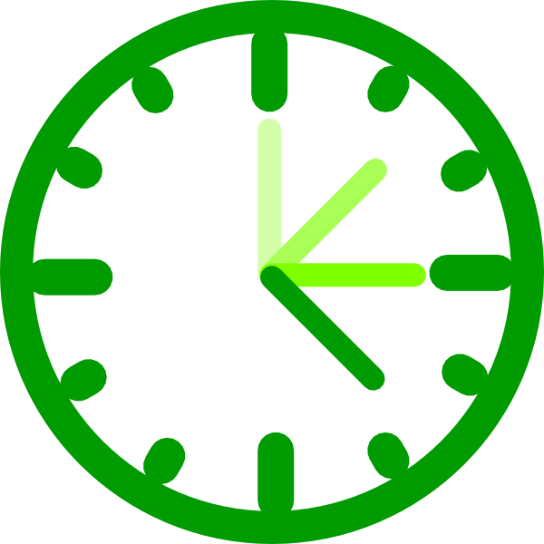 awesome clock green clip art at clker com vector clip Biohazard Pumpkin Carving Templates Cool Biohazard Drawings