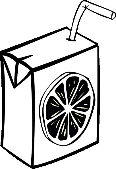 Line Art Juice : Juice box clip art at clker vector online