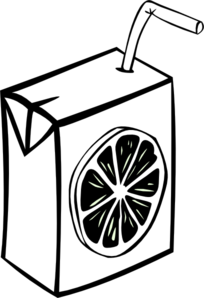 Juice Box Clip Art