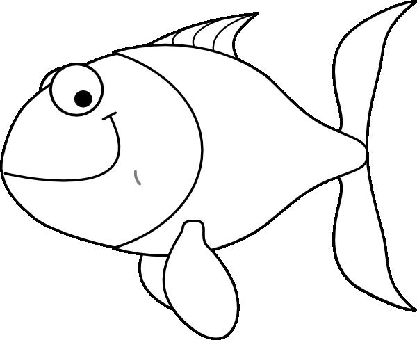 fish clipart white - photo #9