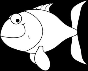 white fish clip art at clker com vector clip art online royalty rh clker com fish clip art kids fish clip art for kids
