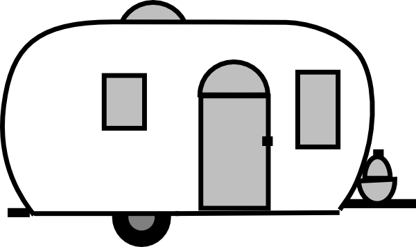 Airstream Clip Art at Clker.com - vector clip art online, royalty free ...