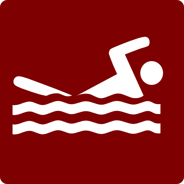 Hotel Icon Swimming Pool Clip Art Red White Clip Art At Vector Clip Art Online