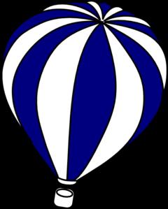 hot air balloon grey clip art at clker com vector clip art online rh clker com hot air balloon clip art to print hot air balloon clipart