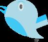 Blue Bird 2 Clip Art