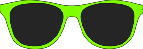Green Sunglasses Clip Art