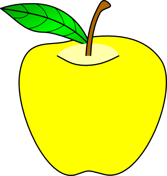 clipart apple pages - photo #46