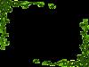 Leafy Frame Dor Clip Art